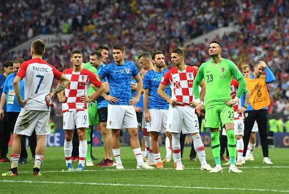 شکست کرواسی در فینال جام جهانی