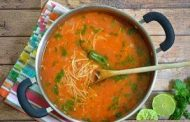 طرز تهیه سوپ رشته فرنگی یا سوپ ورمیشل