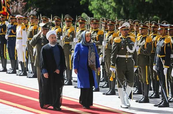 عکس رئیس جمهور کرواسی در ایران