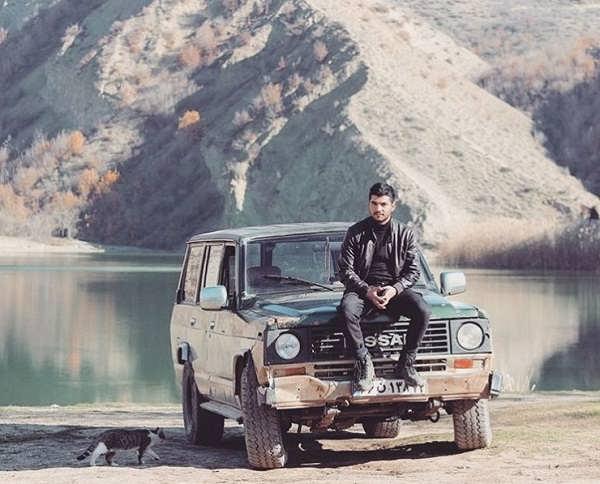 عکس های سینا سهیلی با نام هنری مهراد