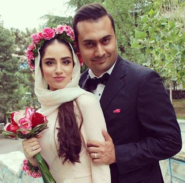 عکس های مراسم ازدواج هانیه غلامی