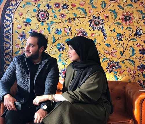 عکس پسر و عروس سفیر ایران در دانمارک