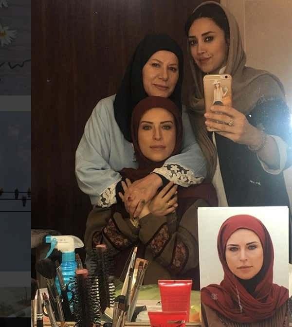 لادن سلیمانی مادر هانیه غلامی در سریال لژیونر