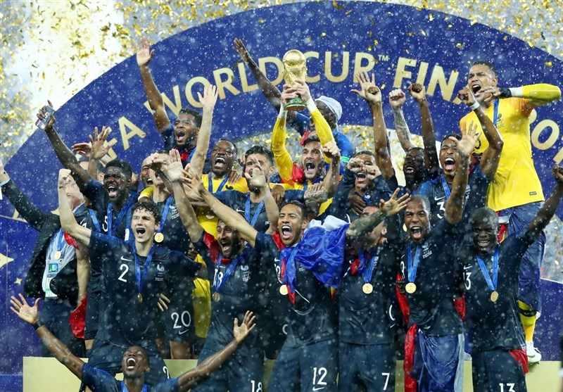 لحظه قهرمانی فرانسه در جام جهانی ۲۰۱۸