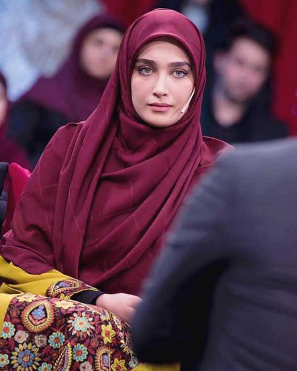 عکس سیده آناشید حسینی عروس سفیر ایران در دانمارک