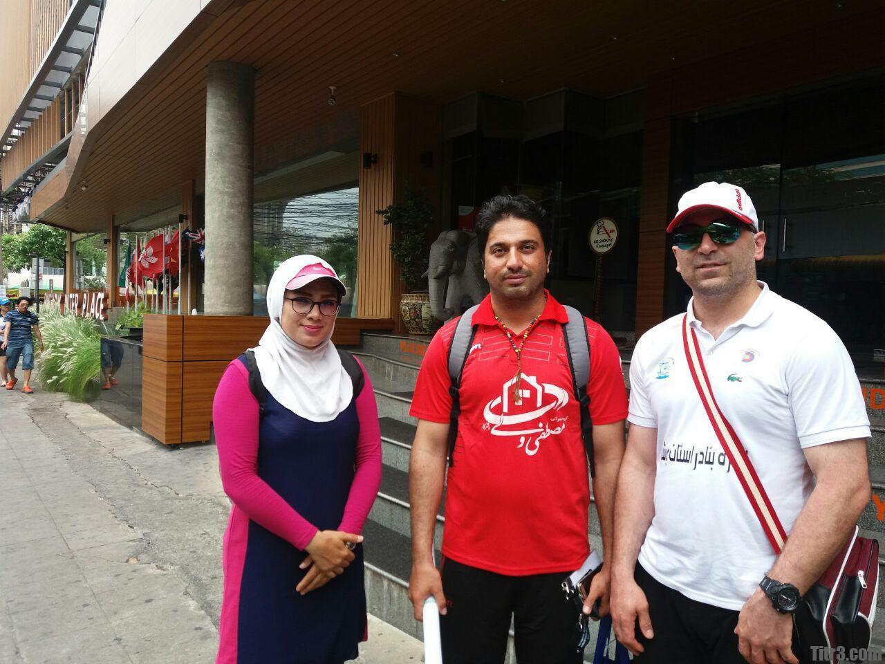 عکس مجید قیدی و پریسا براتچی