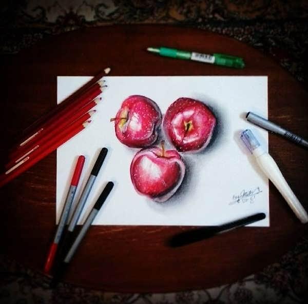 از نمونه نقاشی های محمد متین نصیری خنداننده شو
