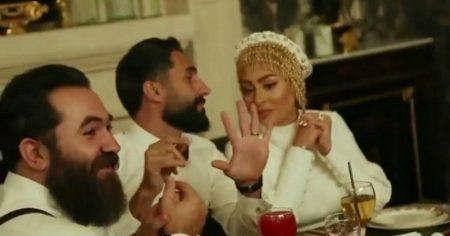 تصویر عروسی هادی کاظمی و همسرش