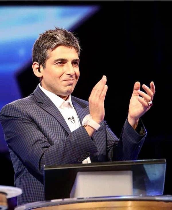 حمید گودرزی مجری مسابقه پنج ستاره شبکه پنج