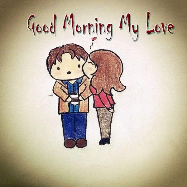 صبح بخیر عاشقانه به همسر