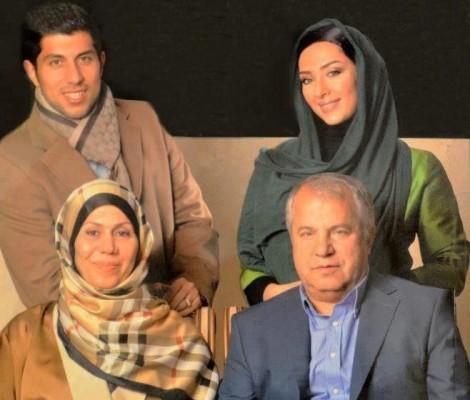 عکس آناهیتا درگاهی با علی پروین و همسر سابقش محمد پروین