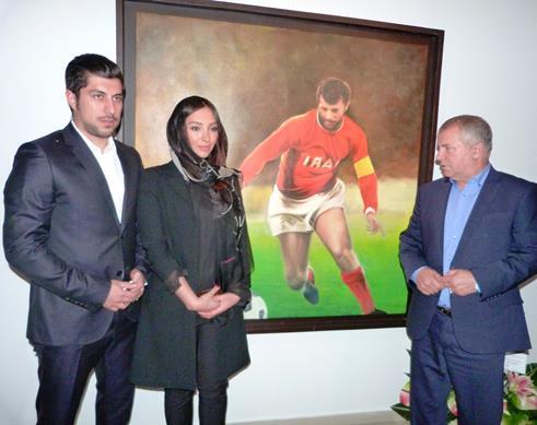 عکس آناهیتا درگاهی با علی پروین و همسر سابقش