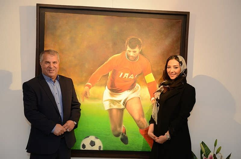 عکس آناهیتا درگاهی با علی پروین پدرشوهر سابقش