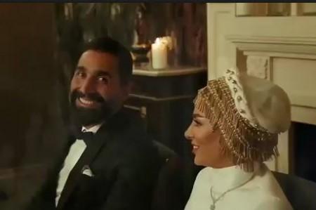 عکس ازدواج سمانه پاکدل و هادی کاظمی