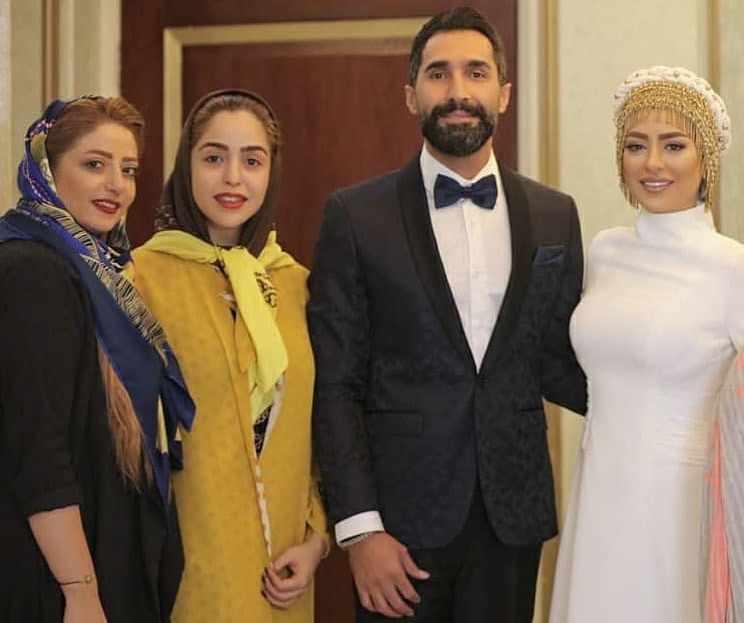 عکس ازدواج هادی کاظمی و سمانه پاکدل