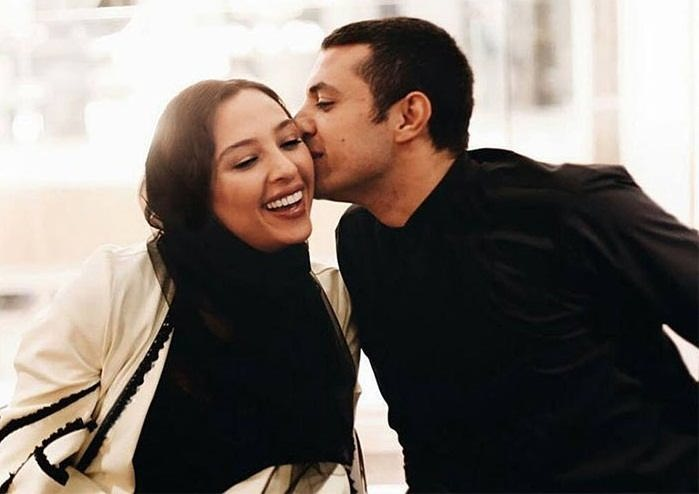 عکس اشکان خطیبی و همسرش آناهیتا درگاهی