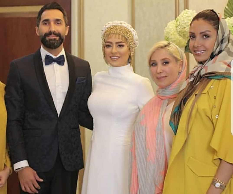 عکس عروسی هادی کاظمی و سمانه پاکدل