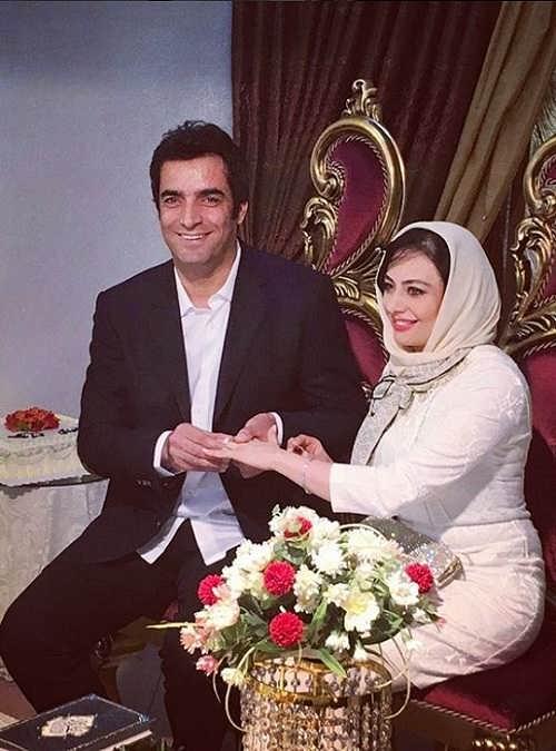 عکس مراسم ازدواج یکتا ناصر و همسرش منوچهر هادی