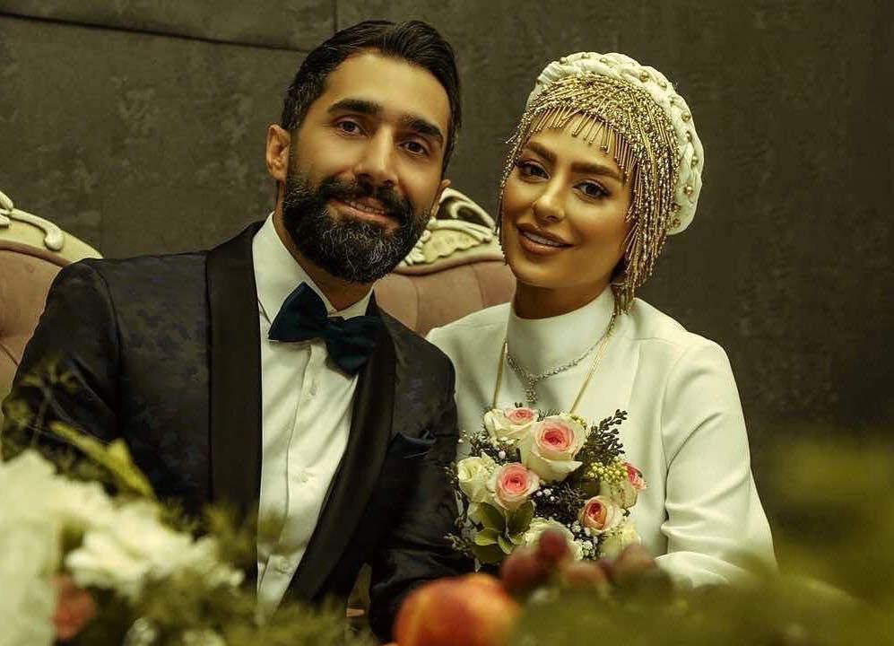عکس مراسم عروسی سمانه پاکدل