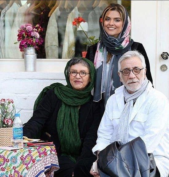 عکس مسعود رایگان و همسرش رویا تیموریان و دنیا مدنی