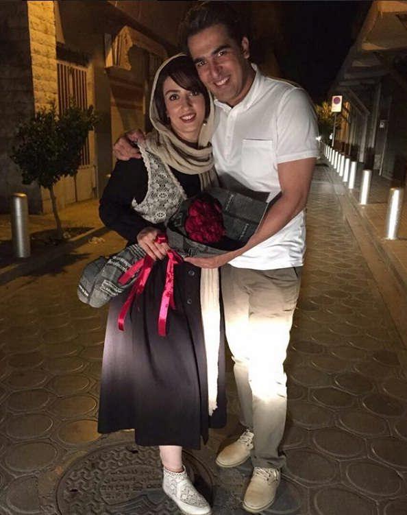 عکس های الهام طهموری و همسرش حامد احمدجو
