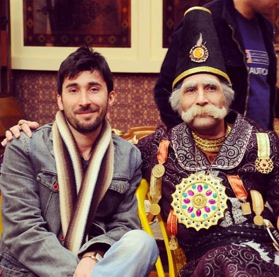 عکس های حامد کاظمی و برادرش هادی کاظمی در نقش باباشاه