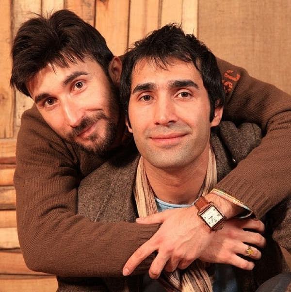 عکس های حامد کاظمی و برادرش هادی کاظمی