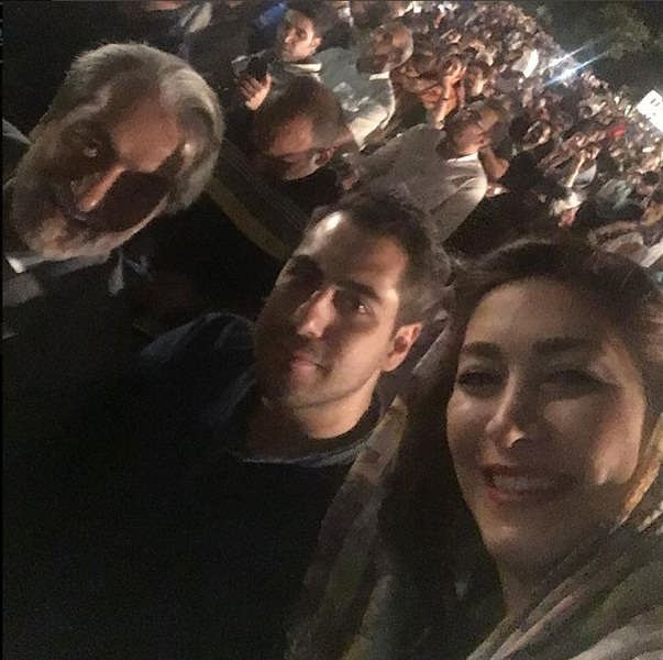 عکس های مجید انتظامی و دخترش گلنوش و پسرش سروش