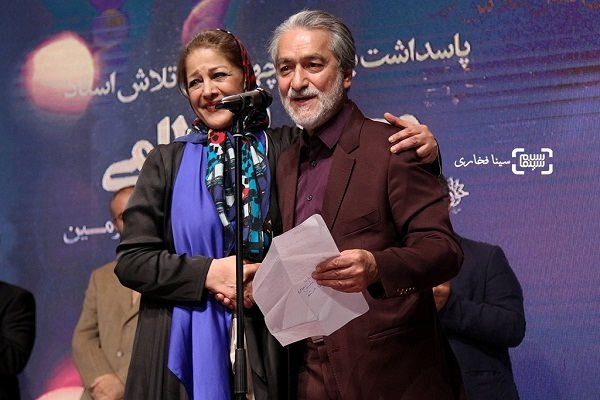 عکس های مجید انتضامی و همسرش