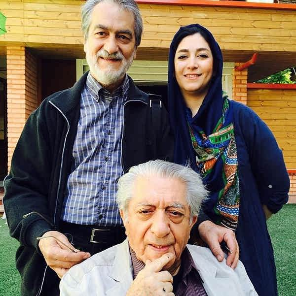 عکس های مجید انتظامی و دخترش گلنوش انتظامی در کنار عزت الله انتظامی