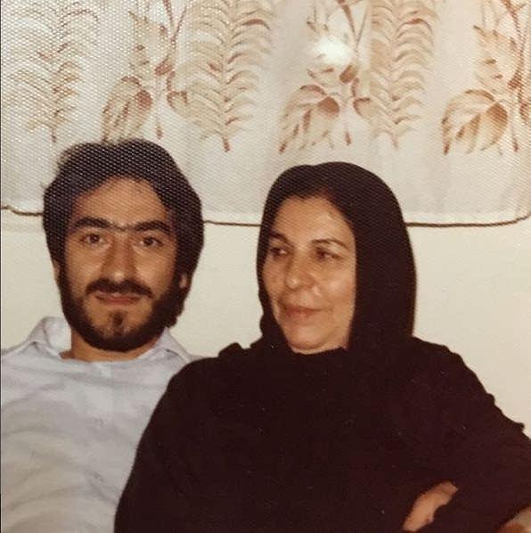 عکس های مجید انتظامی و مادرش