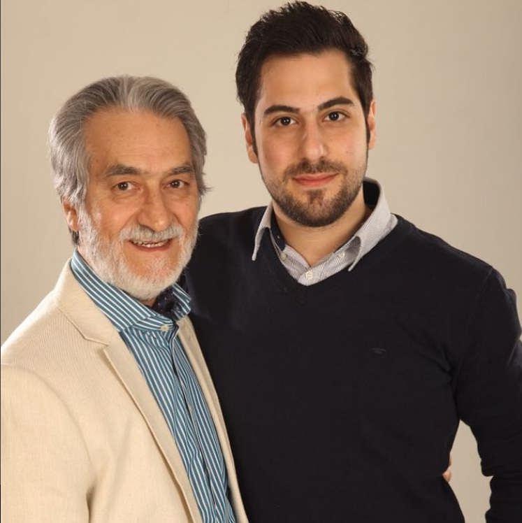 عکس های مجید انتظامی و پسرش سروش
