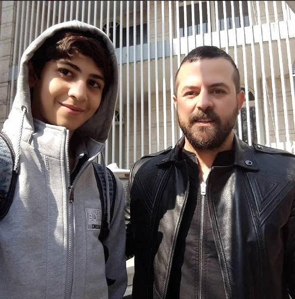 عکس های محمد متین نصیری در کنار هومن سیدی