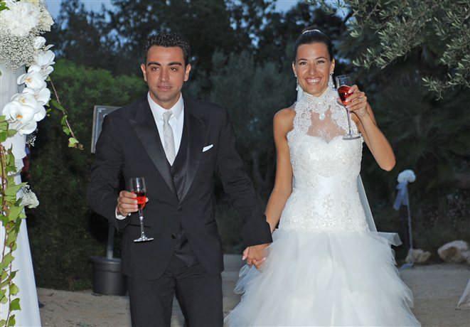 عکس های مراسم ازدواج ژاوی هرناندز و همسرش