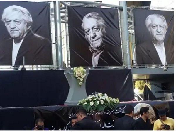 عکس های مراسم تشییع جنازه عزت الله انتظامی۲