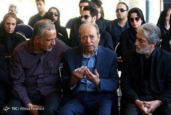 عکس های مراسم تشییع جنازه عزت الله انتظامی