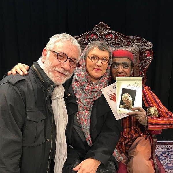 عکس های مسعود رایگان و همسرش رویا تیموریان در کنار گلاب آدینه