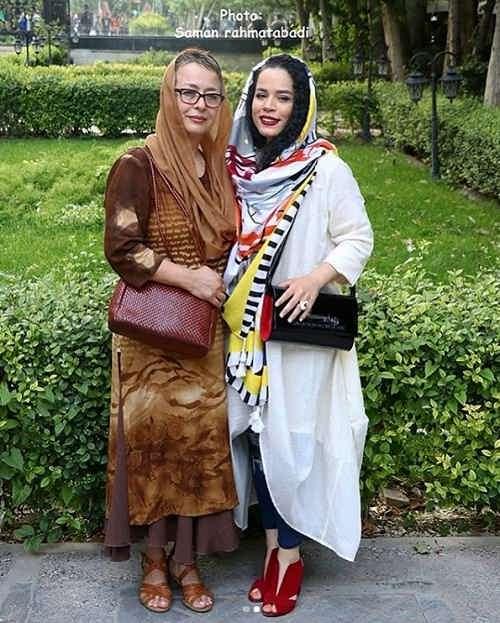 عکس های ملیکا شریفی نیا و مادرش آزیتا حاجیان
