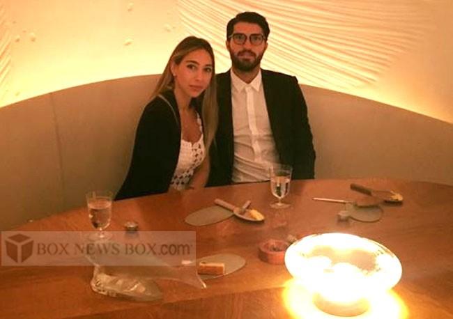 عکس های کریم انصاری فرد و نامزدش صوفیا