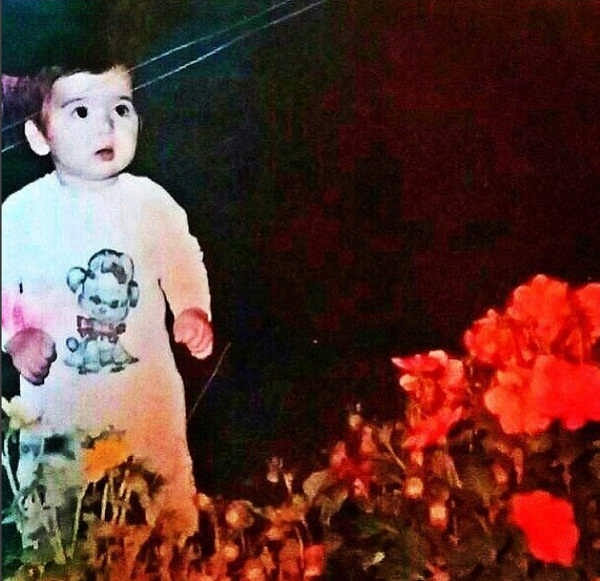 عکس های کودکی حمید گودرزی و مادرش