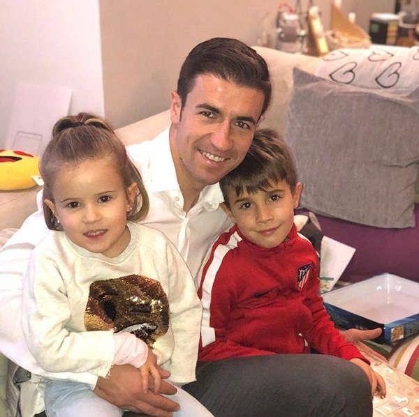 عکس های گابی فرناندز و فرزندانش