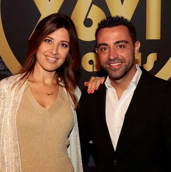عکس ژاوی هرناندز و همسرش