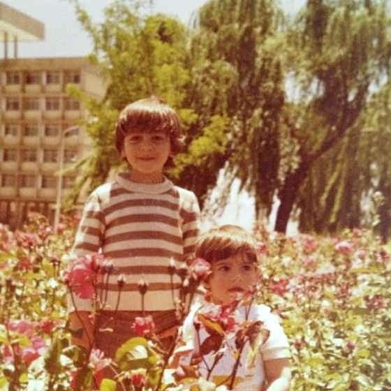 عکس کودکی آرش مجیدی