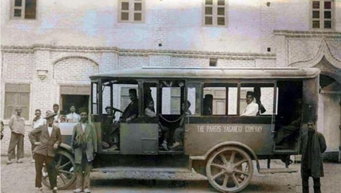اولین اتوبوس با لاستیک توپر اولیه در خطوط بین شهری ایران