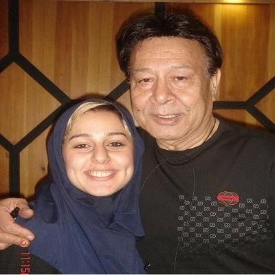 حسین عرفانی و دخترش مهسا عرفانی