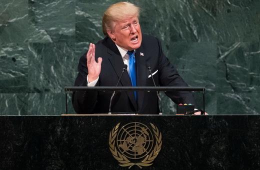 زمان و ساعت سخنرانی ترامپ در سازمان ملل