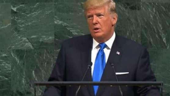 متن سخنرانی ترامپ در سازمان ملل + فیلم