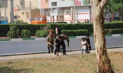 عکس های حمله امروز اهواز