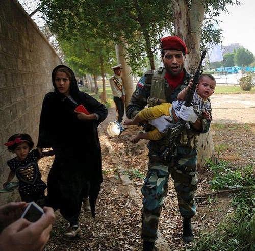 عکس های حمله تروریستی اهواز امروز ۳۰
