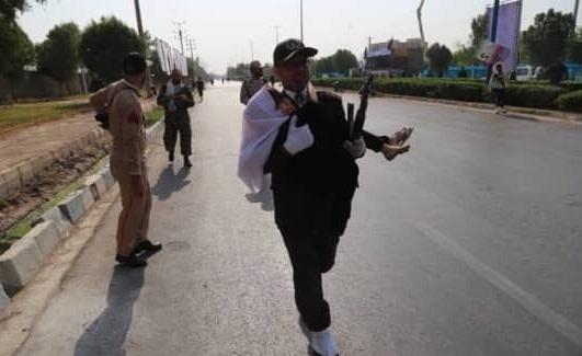 عکس های حمله تروریستی اهواز امروز ۵